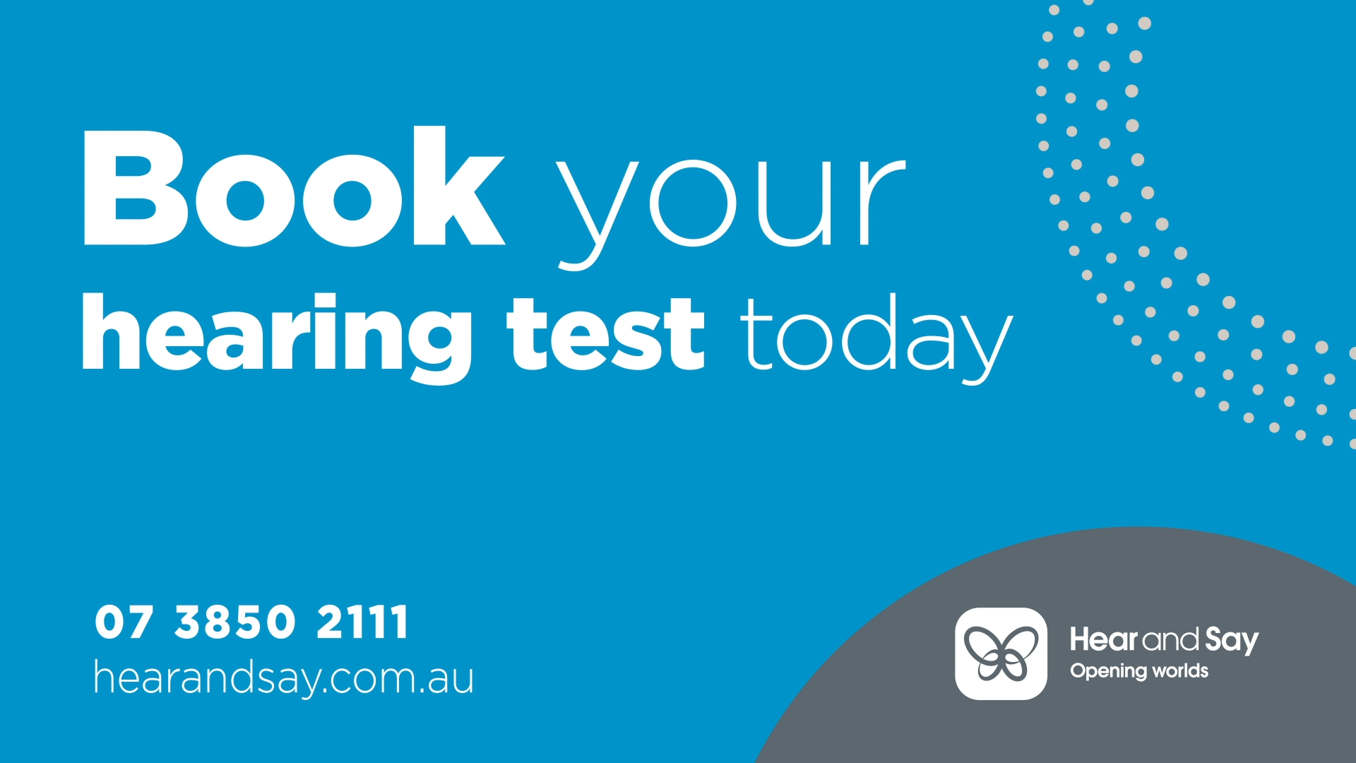Hearing Test Booking Banner